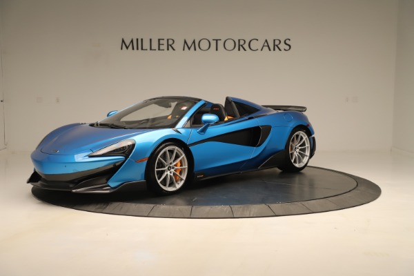 New 2020 McLaren 600LT SPIDER Convertible for sale $303,059 at Alfa Romeo of Westport in Westport CT 06880 1
