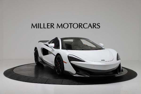 New 2020 McLaren 600LT Convertible for sale Sold at Alfa Romeo of Westport in Westport CT 06880 11