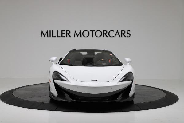 New 2020 McLaren 600LT Convertible for sale Sold at Alfa Romeo of Westport in Westport CT 06880 12