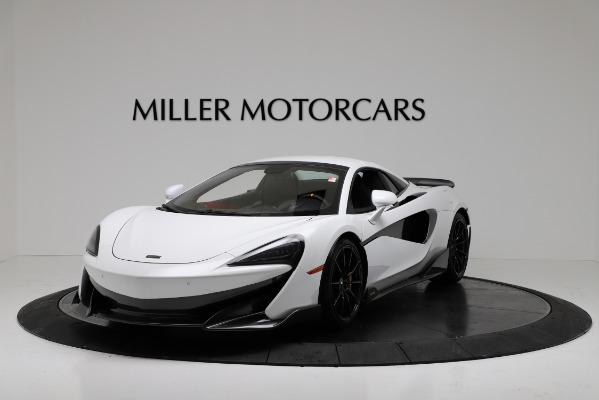 New 2020 McLaren 600LT Convertible for sale Sold at Alfa Romeo of Westport in Westport CT 06880 13
