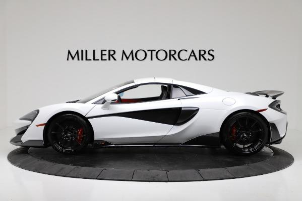 New 2020 McLaren 600LT Convertible for sale Sold at Alfa Romeo of Westport in Westport CT 06880 14