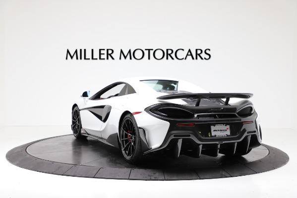 New 2020 McLaren 600LT Convertible for sale Sold at Alfa Romeo of Westport in Westport CT 06880 15