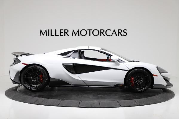 New 2020 McLaren 600LT Convertible for sale Sold at Alfa Romeo of Westport in Westport CT 06880 17