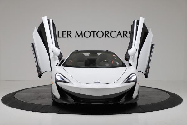 New 2020 McLaren 600LT Convertible for sale Sold at Alfa Romeo of Westport in Westport CT 06880 19