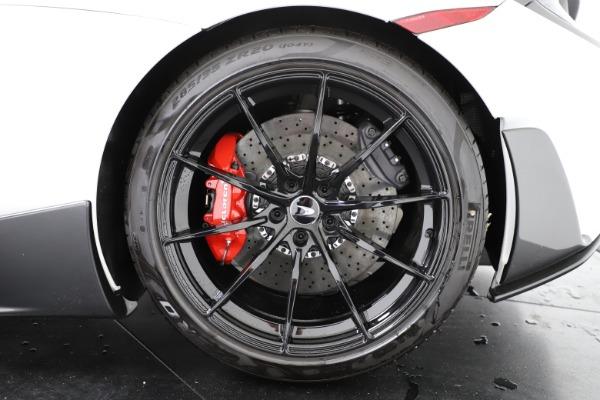 New 2020 McLaren 600LT Convertible for sale Sold at Alfa Romeo of Westport in Westport CT 06880 20