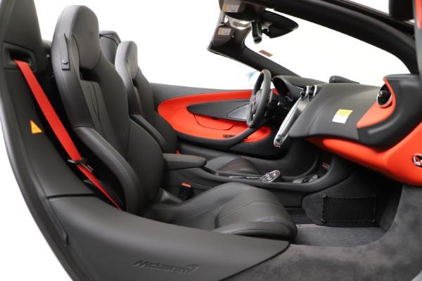 New 2020 McLaren 600LT Convertible for sale Sold at Alfa Romeo of Westport in Westport CT 06880 25