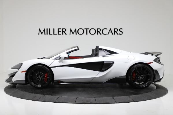 New 2020 McLaren 600LT Convertible for sale Sold at Alfa Romeo of Westport in Westport CT 06880 3