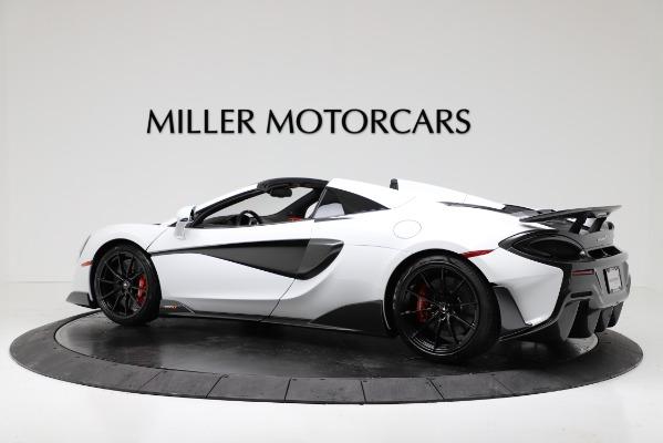 New 2020 McLaren 600LT Convertible for sale Sold at Alfa Romeo of Westport in Westport CT 06880 4