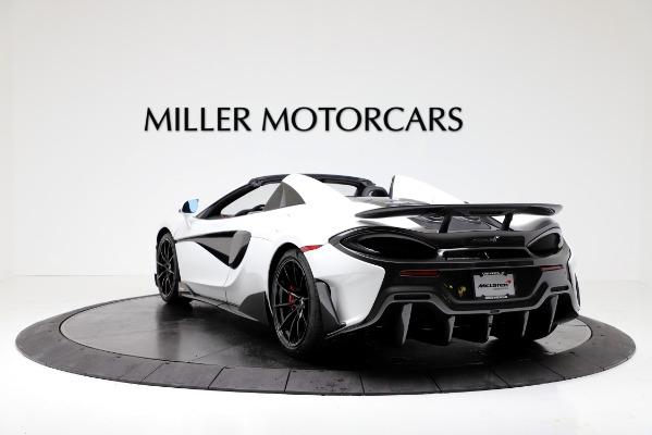 New 2020 McLaren 600LT Convertible for sale Sold at Alfa Romeo of Westport in Westport CT 06880 5