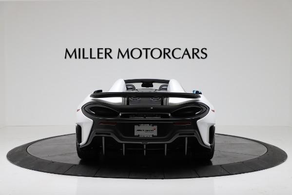 New 2020 McLaren 600LT Convertible for sale Sold at Alfa Romeo of Westport in Westport CT 06880 6