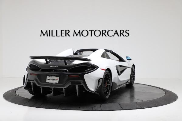New 2020 McLaren 600LT Convertible for sale Sold at Alfa Romeo of Westport in Westport CT 06880 7