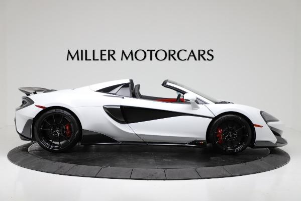 New 2020 McLaren 600LT Convertible for sale Sold at Alfa Romeo of Westport in Westport CT 06880 9