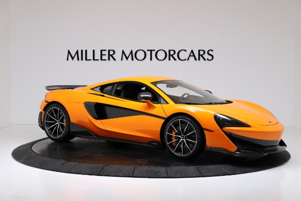 New 2019 McLaren 600LT Coupe for sale $279,310 at Alfa Romeo of Westport in Westport CT 06880 10