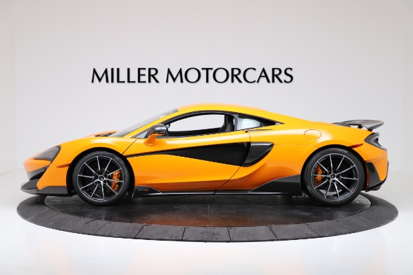 New 2019 McLaren 600LT Coupe for sale $279,310 at Alfa Romeo of Westport in Westport CT 06880 3