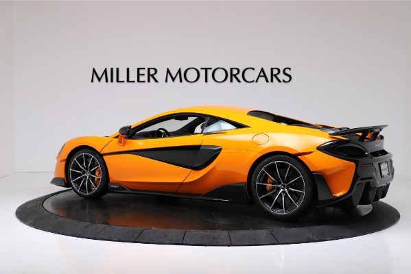 New 2019 McLaren 600LT Coupe for sale $279,310 at Alfa Romeo of Westport in Westport CT 06880 4