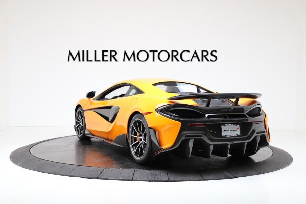 New 2019 McLaren 600LT Coupe for sale $279,310 at Alfa Romeo of Westport in Westport CT 06880 5