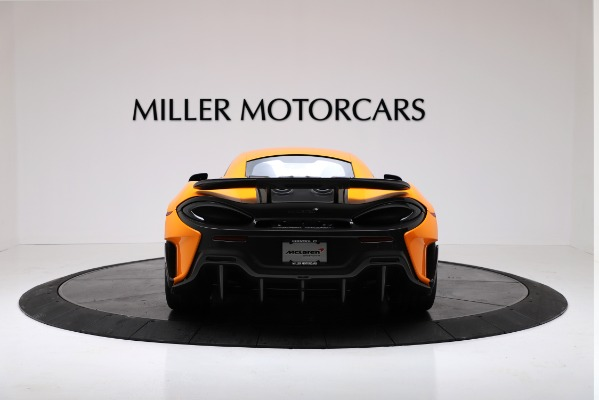 New 2019 McLaren 600LT Coupe for sale $279,310 at Alfa Romeo of Westport in Westport CT 06880 6