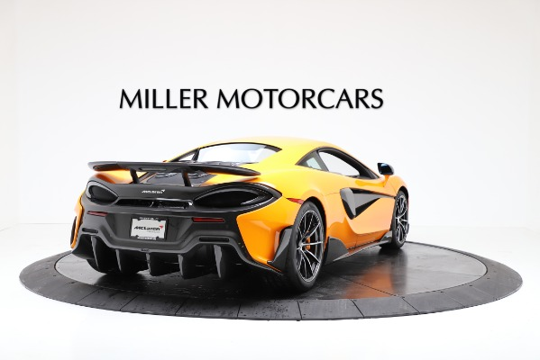 New 2019 McLaren 600LT Coupe for sale $279,310 at Alfa Romeo of Westport in Westport CT 06880 7