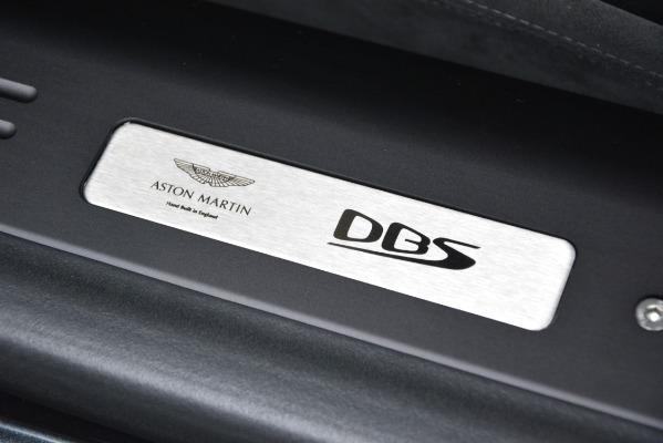 New 2019 Aston Martin DBS Superleggera Coupe for sale $354,221 at Alfa Romeo of Westport in Westport CT 06880 20