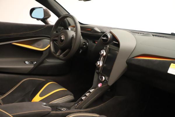 New 2020 McLaren 720S SPIDER Convertible for sale Sold at Alfa Romeo of Westport in Westport CT 06880 26