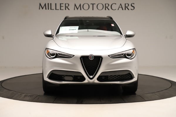 New 2019 Alfa Romeo Stelvio Ti Sport Q4 for sale Sold at Alfa Romeo of Westport in Westport CT 06880 12