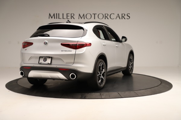 New 2019 Alfa Romeo Stelvio Ti Sport Q4 for sale Sold at Alfa Romeo of Westport in Westport CT 06880 7