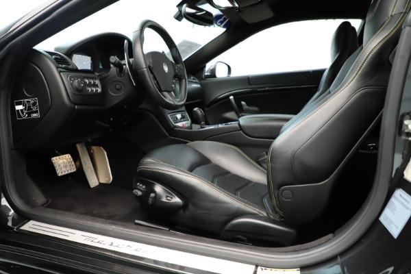 Used 2013 Maserati GranTurismo Sport for sale Sold at Alfa Romeo of Westport in Westport CT 06880 14