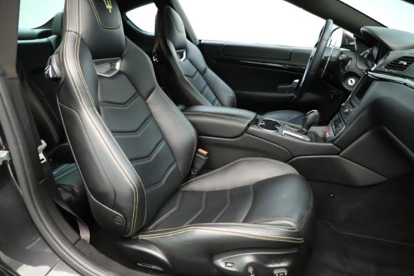 Used 2013 Maserati GranTurismo Sport for sale Sold at Alfa Romeo of Westport in Westport CT 06880 21