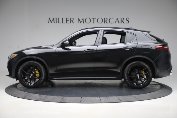 New 2019 Alfa Romeo Stelvio Ti Q4 for sale Sold at Alfa Romeo of Westport in Westport CT 06880 3