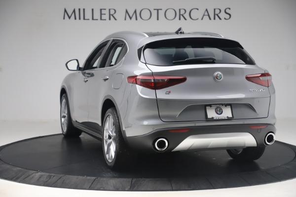 New 2019 Alfa Romeo Stelvio Ti Lusso Q4 for sale Sold at Alfa Romeo of Westport in Westport CT 06880 5