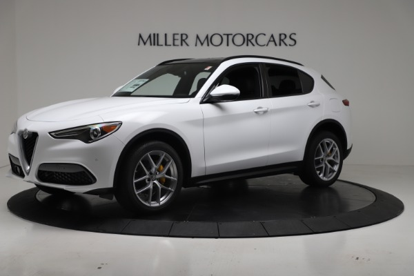 New 2019 Alfa Romeo Stelvio Ti Sport Q4 for sale Sold at Alfa Romeo of Westport in Westport CT 06880 2