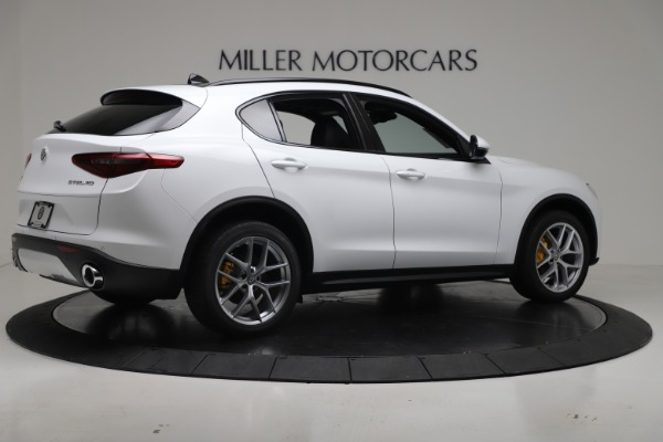 New 2019 Alfa Romeo Stelvio Ti Sport Q4 for sale Sold at Alfa Romeo of Westport in Westport CT 06880 8