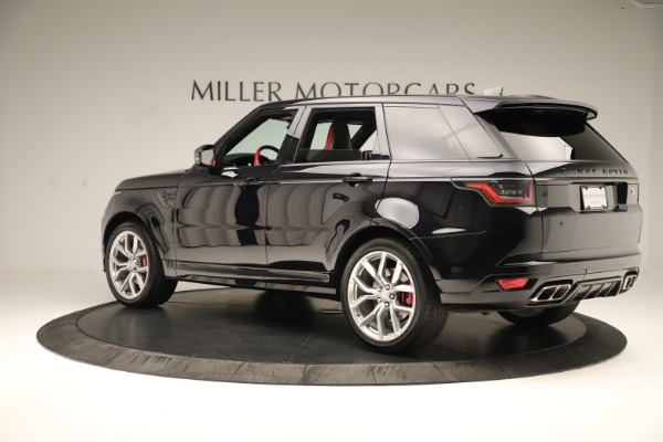 Used 2019 Land Rover Range Rover Sport SVR for sale Sold at Alfa Romeo of Westport in Westport CT 06880 4
