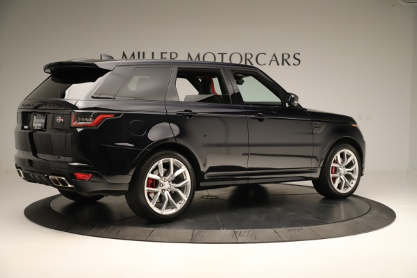 Used 2019 Land Rover Range Rover Sport SVR for sale Sold at Alfa Romeo of Westport in Westport CT 06880 8