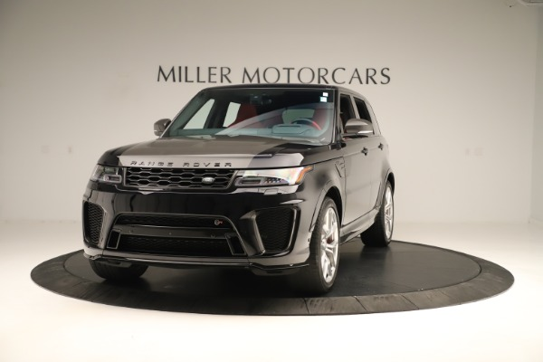 Used 2019 Land Rover Range Rover Sport SVR for sale Sold at Alfa Romeo of Westport in Westport CT 06880 1