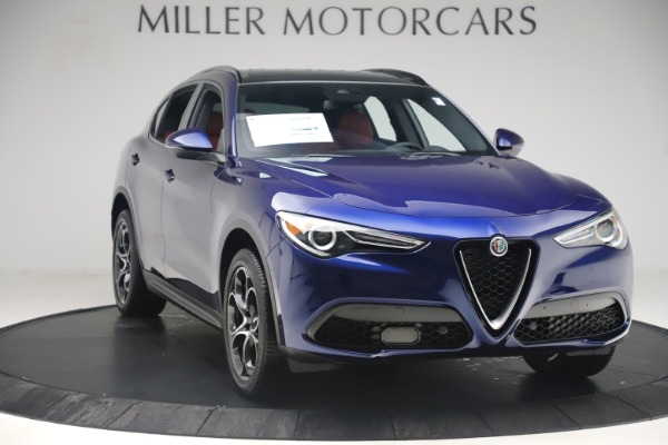 New 2019 Alfa Romeo Stelvio Ti Sport Q4 for sale $58,940 at Alfa Romeo of Westport in Westport CT 06880 11