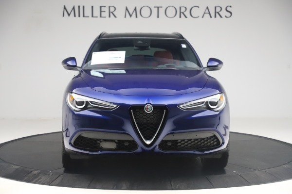 New 2019 Alfa Romeo Stelvio Ti Sport Q4 for sale $58,940 at Alfa Romeo of Westport in Westport CT 06880 12