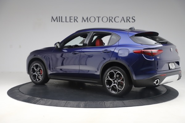 New 2019 Alfa Romeo Stelvio Ti Sport Q4 for sale $58,940 at Alfa Romeo of Westport in Westport CT 06880 4