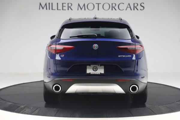 New 2019 Alfa Romeo Stelvio Ti Sport Q4 for sale $58,940 at Alfa Romeo of Westport in Westport CT 06880 6