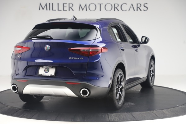 New 2019 Alfa Romeo Stelvio Ti Sport Q4 for sale $58,940 at Alfa Romeo of Westport in Westport CT 06880 7