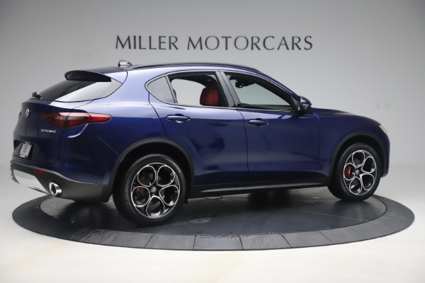 New 2019 Alfa Romeo Stelvio Ti Sport Q4 for sale $58,940 at Alfa Romeo of Westport in Westport CT 06880 8