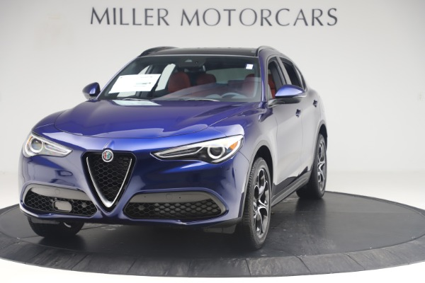 New 2019 Alfa Romeo Stelvio Ti Sport Q4 for sale $58,940 at Alfa Romeo of Westport in Westport CT 06880 1
