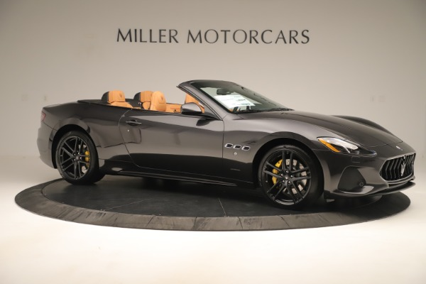 New 2019 Maserati GranTurismo Sport Convertible for sale $161,695 at Alfa Romeo of Westport in Westport CT 06880 10