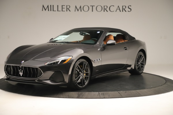 New 2019 Maserati GranTurismo Sport Convertible for sale $161,695 at Alfa Romeo of Westport in Westport CT 06880 13