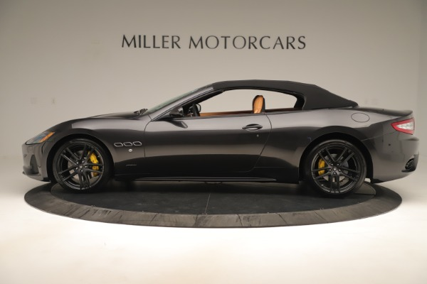 New 2019 Maserati GranTurismo Sport Convertible for sale $161,695 at Alfa Romeo of Westport in Westport CT 06880 14
