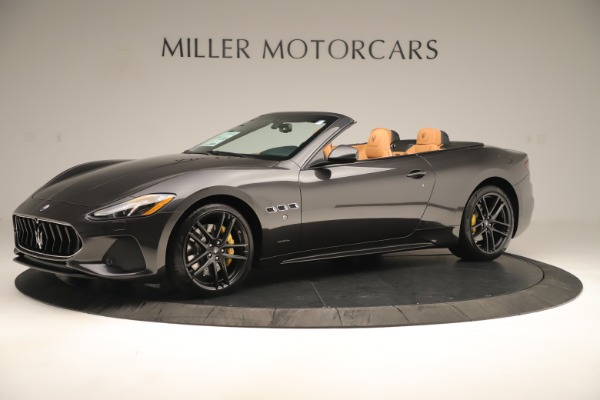 New 2019 Maserati GranTurismo Sport Convertible for sale $161,695 at Alfa Romeo of Westport in Westport CT 06880 2