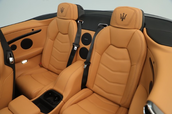 New 2019 Maserati GranTurismo Sport Convertible for sale $161,695 at Alfa Romeo of Westport in Westport CT 06880 23