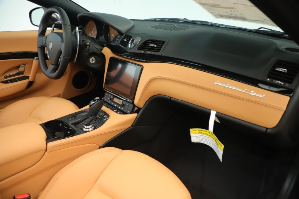 New 2019 Maserati GranTurismo Sport Convertible for sale $163,845 at Alfa Romeo of Westport in Westport CT 06880 26