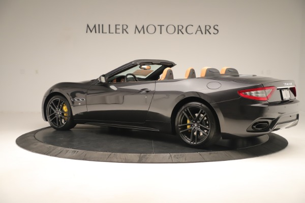 New 2019 Maserati GranTurismo Sport Convertible for sale $161,695 at Alfa Romeo of Westport in Westport CT 06880 4