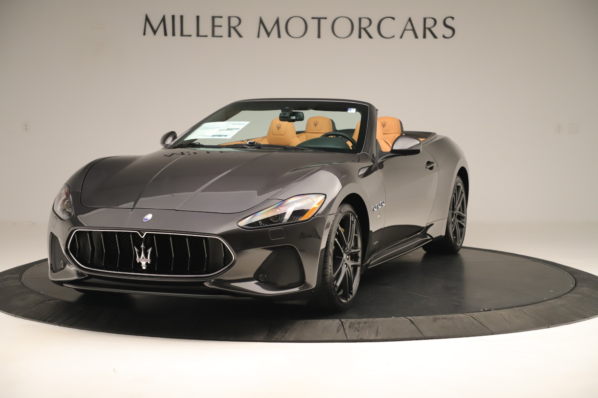 New 2019 Maserati GranTurismo Sport Convertible for sale $163,845 at Alfa Romeo of Westport in Westport CT 06880 1